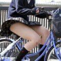 【画像】ミニスカで自転車乗ってる女の子いたら無条件で見ちゃうw