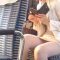 【画像】座りや脚組み…いろんなシチュでパンチラ三昧!