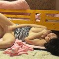 【オナニー盗撮動画】看護師女子寮でかわいい女のコたちがストレス発散のためオナニーしまくりw
